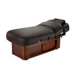 Table de massage 4 moteurs avec chauffage grand confort, KEID Marron