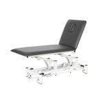 Table électrique 2 panneaux pour physiothérapeute, WATSU Gris graphite
