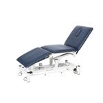 Table électrique 3 panneaux pour physiothérapeute, DYNA Bleu