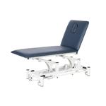 Table électrique 2 panneaux pour physiothérapeute, WATSU Bleu