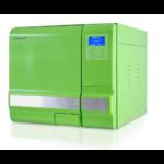 Autoclave 18 Litres vert, ICANCLAVE, classe B avec port USB et double verrouillage de sécurité