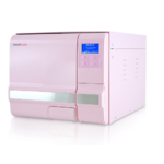 Autoclave 12 Litres rose, ICANCLAVE, classe B avec port USB et double verrouillage de sécurité