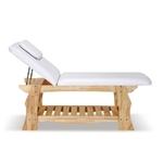 Table de massage fixe en bois massif, OLGA
