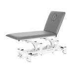 Table électrique 2 panneaux pour physiothérapeute, WATSU Gris ciment