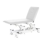 Table électrique 2 panneaux pour physiothérapeute, WATSU Blanc