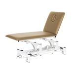 Table électrique 2 panneaux pour physiothérapeute, WATSU Marron