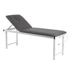Table fixe, grise avec pieds pliables et porte-rouleau , KINNE