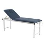 Table fixe, bleue avec pieds pliables et porte-rouleau , KINNE