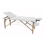 Table de massage pliante en bois de hêtre, ROMUS