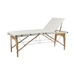 Table de massage pliante en bois naturel spéciale grande taille, SELLA