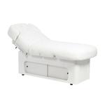 Table de massage 4 moteurs avec chauffage grand confort, KEID BLANC