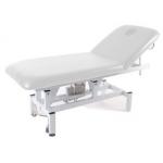 Table de massage électrique, 1 moteur BLANC
