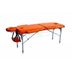 Table de massage pliante en aluminium, 186 x 66 cm