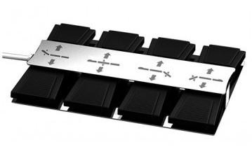 Table de massage 4 moteurs haut de gamme tensor base marron mobilier esth tique - Table de massage haut de gamme ...
