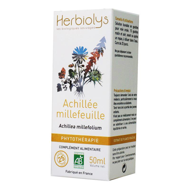 Achillée Millefeuille Bio AB 50 ml