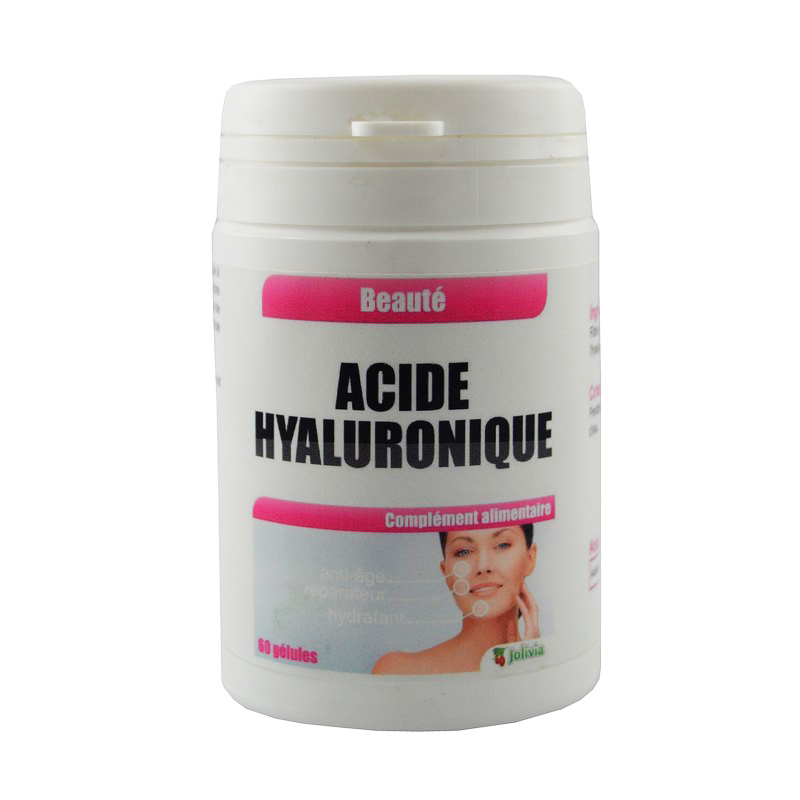 Acide Hyaluronique gélules végétales 60 mg