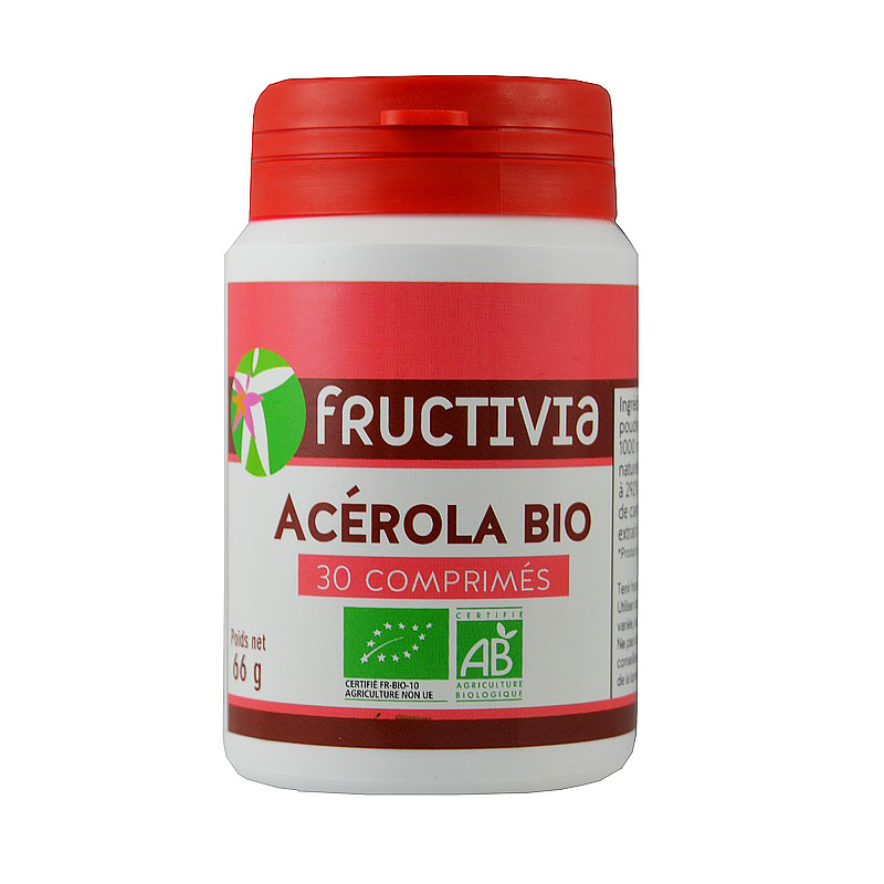 Acérola Bio 30 comprimés