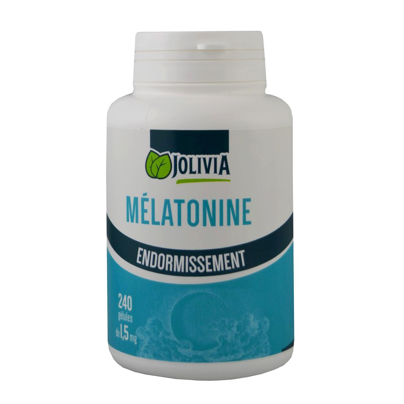Mélatonine 1,5 mg - 240 gélules - Santé/Sommeil - Boutique