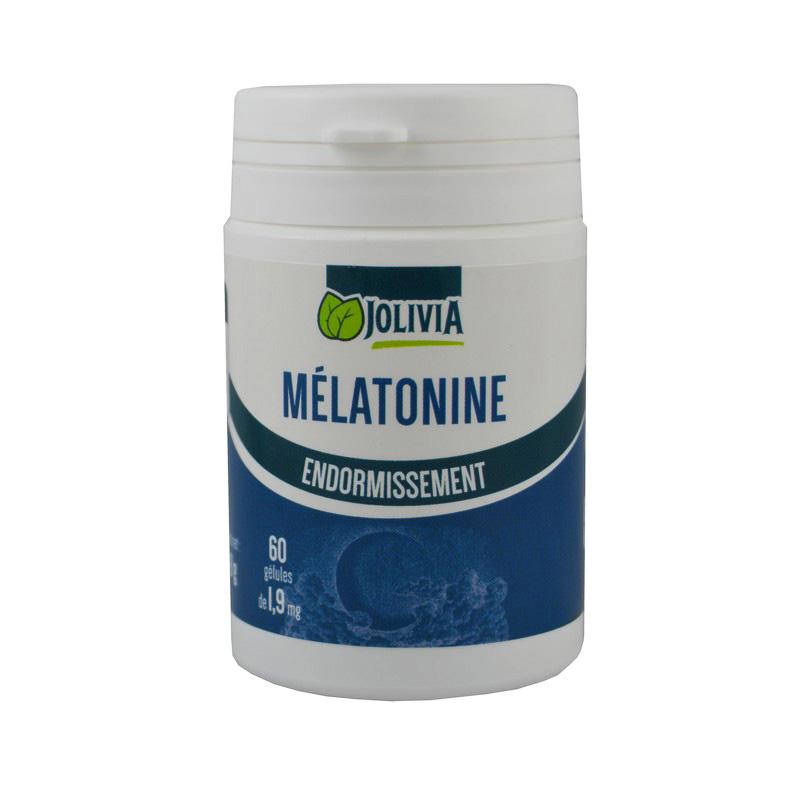 Mélatonine 1,9 mg - 60 gélules végétales - Santé/Sommeil
