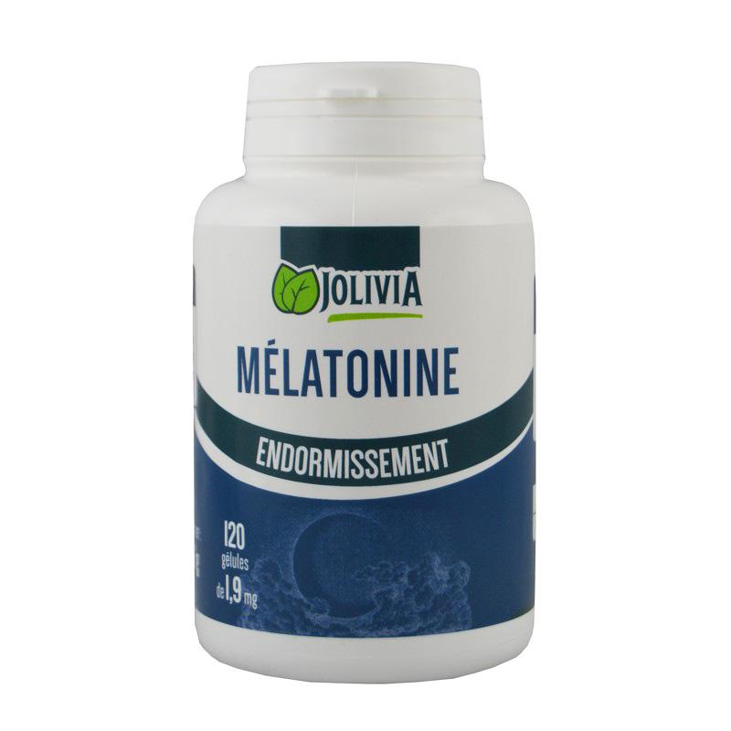 Mélatonine 1,9 mg - 120 gélules végétales - Santé/Sommeil