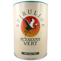 Spiruline Flamant Vert 1000 comprimés