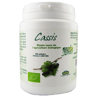 Cassis Bio AB 200 gélules végétales 250 mg