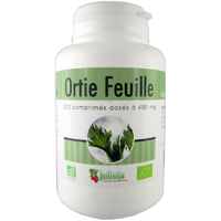 Ortie Feuille Bio AB 200 comprimés 400 mg