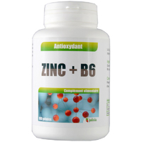 Zinc + B6 180 gélules 14,4 mg