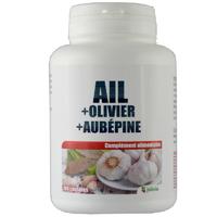 Ail-Olivier-Aubépine 180 capsules