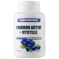 Charbon myrtille 180 gélules végétales