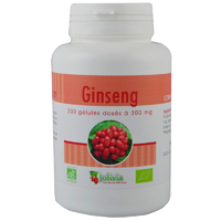 Ginseng Rouge Bio AB 200 gélules végétales 300 mg