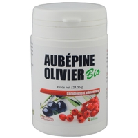 Aubépine Olivier Bio gélules végétales