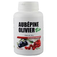 Aubépine Olivier Bio 180 gélules végétales