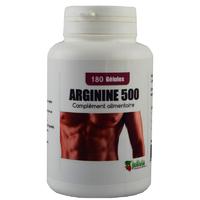 L-Arginine 500 mg 180 gélules