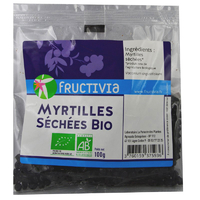 Myrtilles séchées Bio 100 g (Blueberry)