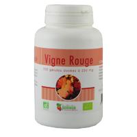 Vigne rouge Bio AB 200 gélules végétales 250 mg