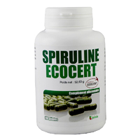 Spiruline Ecocert 180 gélules