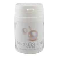 Poudre de Perle 60 gélules végétales 490 mg