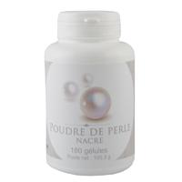 Poudre de perle 180 gélules végétales 490 mg