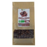 Fèves de cacao crues Bio AB non torréfiées 1 kg