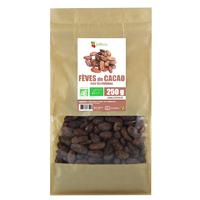 Fèves de cacao Bio AB non torréfiées 250 g