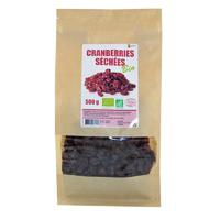 Cranberries séchées Bio sachet 500 g