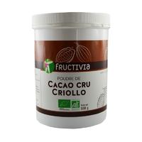 Poudre de Cacao cru Criollo Bio AB 500 g