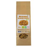 Mulberries blanches séchées Bio AB 200 g DLC courte