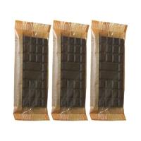 Chocolat noir 74% au Xylitol 45 g (Lot de 3)