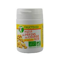 Huile de pépins de courge Bio 60 capsules 500 mg