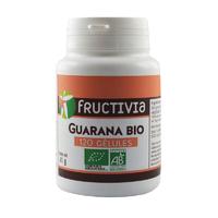 Guarana Bio 120 gélules végétales 300 mg Fructivia