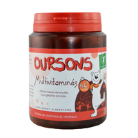 Oursons Multivitaminés en pot de 60