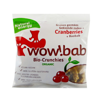 Crunchies bio, cranberries et baobab 40g