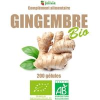Gingembre Bio AB 200 gélules végétale 270 mg